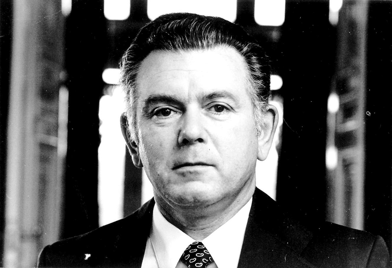 Günter Zabel (1926 bis 2020) in seiner politisch aktiven Zeit. Foto: Kreisarchiv