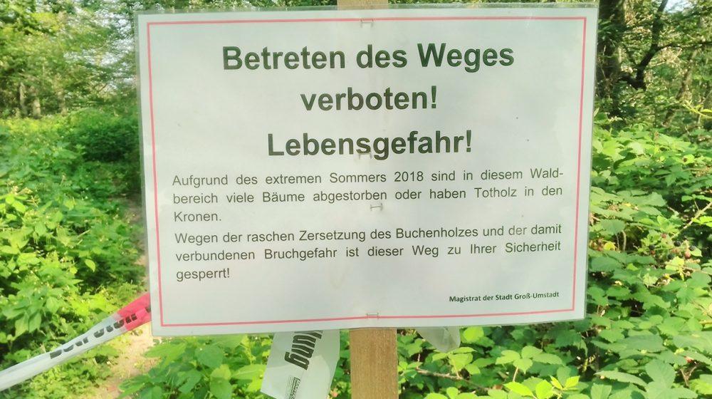 0409_Sperrschild Wald